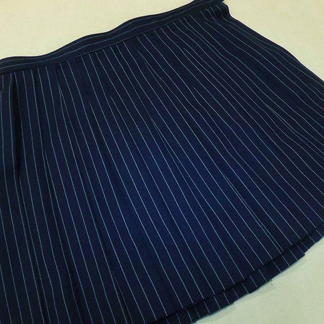 #制服 #スカート 丈を短くカットしました。-12cmはベルトを3回くらい巻いた寸法です。#洋服のリフォーム #スレッド名古屋 #名古屋 #栄 #ファッション